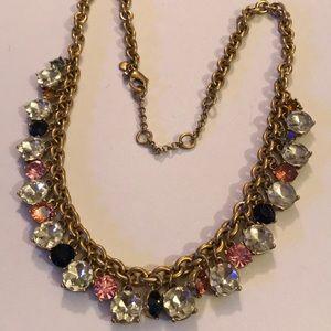Vintage Ann Tayler crystal necklace